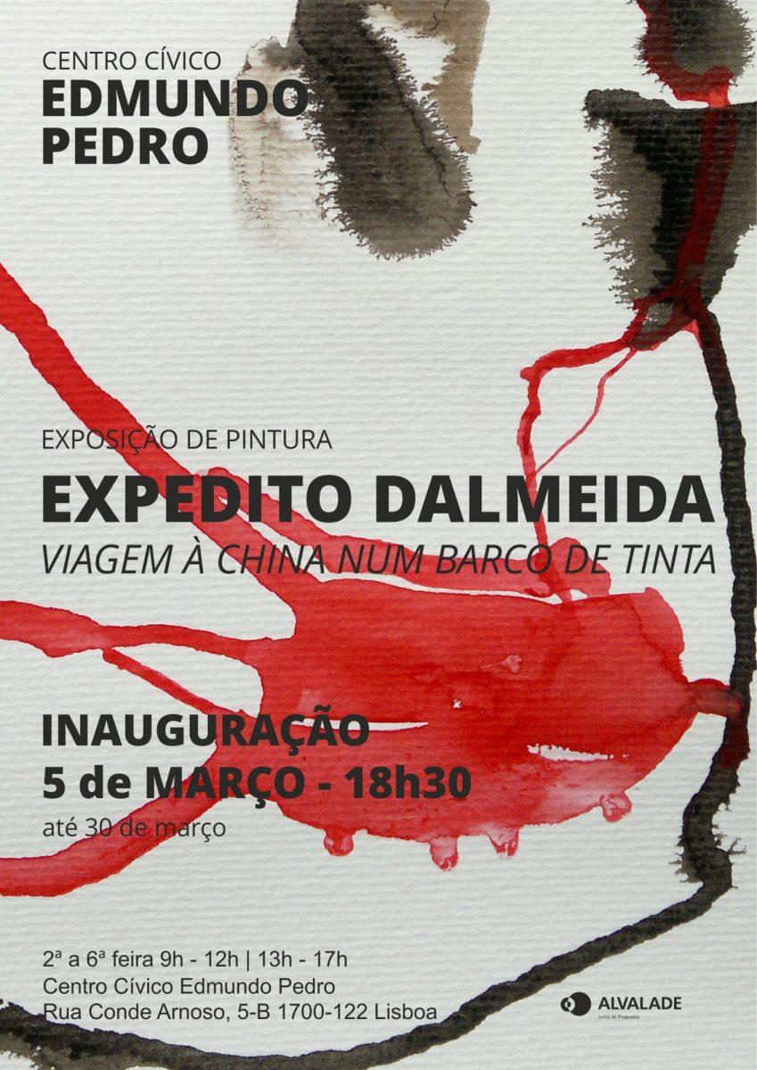 """Exposição """"Viagem à China num Barco de Tinta"""", de Expedito Dalmeida (CANCELADO)"""